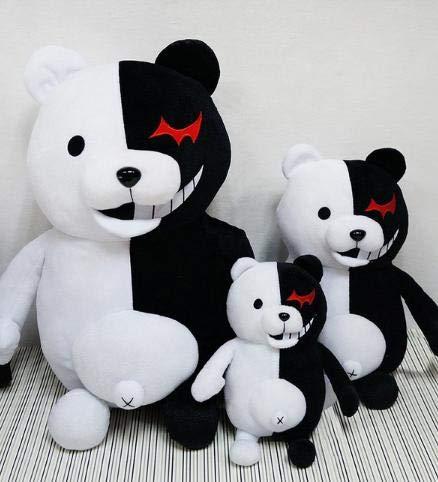 HenBoxz Stuffed & Plush Animals - Plush Toy Accompany Japan Cartoon Super Danganronpa 2 Monokuma Black & White Bear Soft Stuffed Animal Dolls Décor Bedroom