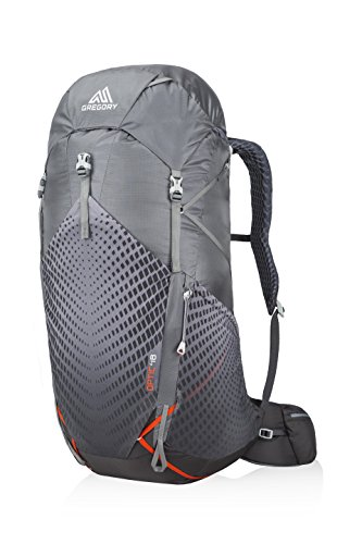 Gregory Mountain Products Men's Optic 48 Liter Backpack, Lava Grey, Medium