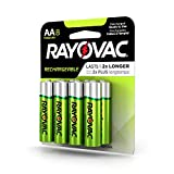 Rayovac Rechargeable AA Batteries, Rechargeable