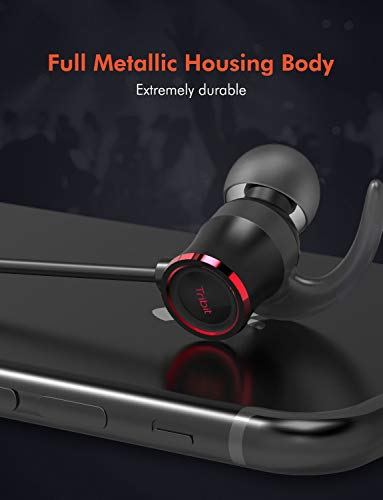 1ccd3600fea Tribit XFree Color Bluetooth Earbuds with Microphone - Wireless Earbuds  Running Headphones, Rock-Solid Bass, IPX5 Waterproof, Up to 10 Hrs playtime  ...