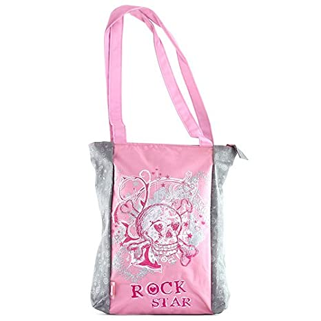 Target Bolsa de Tela para Compra o de Playa, Diseño Rock ...