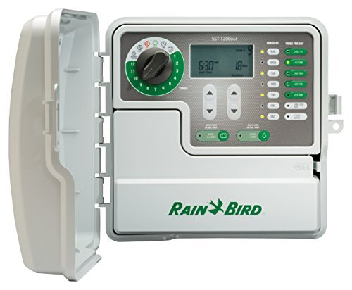 Rain Bird SST1200O Simple To Set Indoor/Outdoor Timer, 12-Zone (Discontinued by Manufacturer; replaced by SST1200OUT)