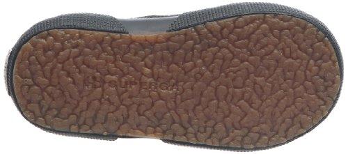 Superga 2750 Fglvj - Zapatos de punta redonda con cierre de velcro Black