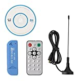 Chinatera USB 2.0 Digital DVB-T SDR+DAB+FM HDTV TV Tuner Receiver Stick RTL2832U+R820T2 EC Support Windows 2000/XP/Vista/WIN7