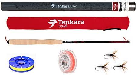 Spool Set Line Flies Tenkara USA Sato 108 to 129 Telescoping Fly Rod