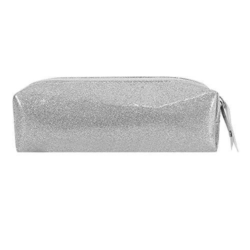 Aisa Pencil Case Holographic Zipper Pen Bags Cosmetics Bags ()