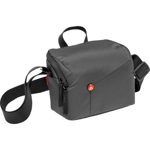 Manfrotto Lifestyle NX Shoulder Bag CSC V2, grey (MB NX-SB-IGY-2) by Manfrotto