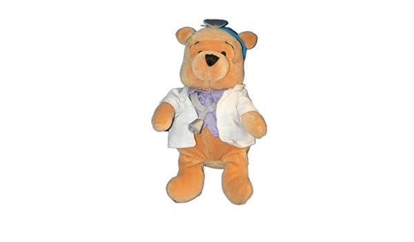 Collector peluche Doudou Winnie the Pooh médico Doctor 20 cm ...