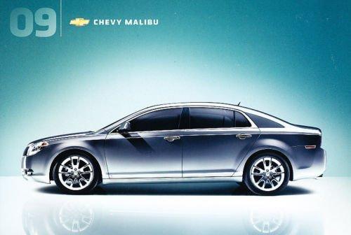 - 2009 Chevrolet Malibu 16-page Original Sales Brochure Catalog - Hybrid