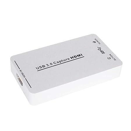mysticall Tarjeta de Captura Videoconferencia de Datos 3.0 USB 3.0 ...