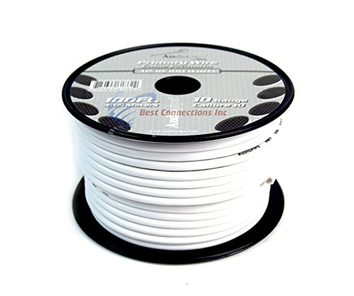10 GA GAUGE 100 FT SPOOLS PRIMARY AUTO REMOTE POWER GROUND WIRE CABLE (3 ROLLS) by Audiopipe (Image #8)