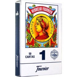 Spanish Playing Cards in Cardboard Box - Barajas Espanolas en Caja de Carton