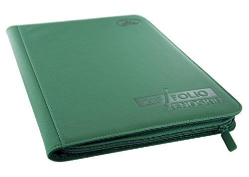 Ultimate Guard 9 Pocket XenoSkin Zipfolio, Green
