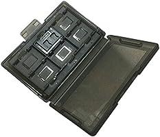 Meijunter Juego Cartucho Caja Desmontable Tarjeta Caso Poseedor para Nintendo Switch 12 Slot Negro translúcido: Amazon.es: Videojuegos