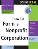 How to Form a Nonprofit Corporation, Mark Warda, 1572483903