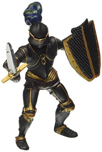 Papo Knight in Armour Figure (Black) by Papo -