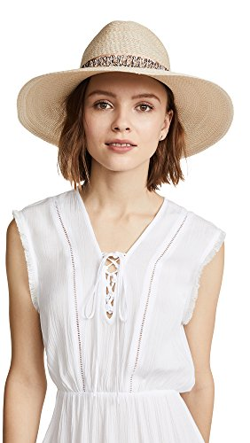 Eugenia Kim Women's Emmanuelle Sun Hat with Band, Ivory, One Size by Eugenia Kim