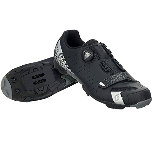 Scott 2017 Mens MTB Comp Boa Bike Shoes - 251831 Matte Black/Silver view online discount high quality comfortable for sale discount fast delivery sale wiki Dd5MLuwL9