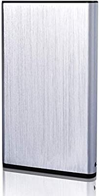 ASUME 2.5 Inch Ultra Slim USB 3.0 Portable External Hard Drive 1TB for PC and Mac (2TB, Silver) from ASUME
