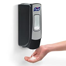 PURELL 8705-D1 2 Piece ADX Advanced Instant Hand Sanitizer Foam Refill Dispenser Kit
