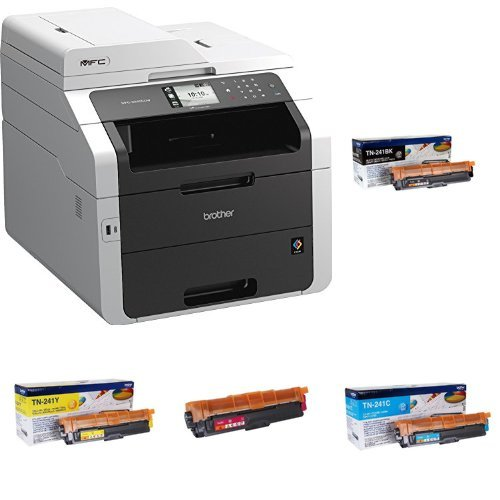 Brother MFC-9340CDW - Impresora multifunción láser color + ...