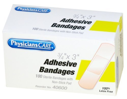 - Acme Bandages, Plastic, 3/4 x 3, 100 Count Box (Pack of 4) by Acme