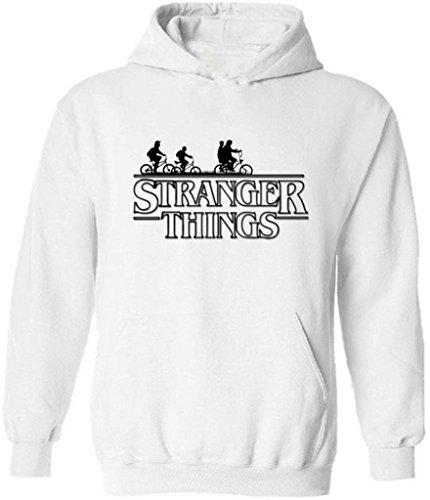 icustomworld Stranger Things Ride Bike Hoodie Netflix Series Hooded Sweatshirt