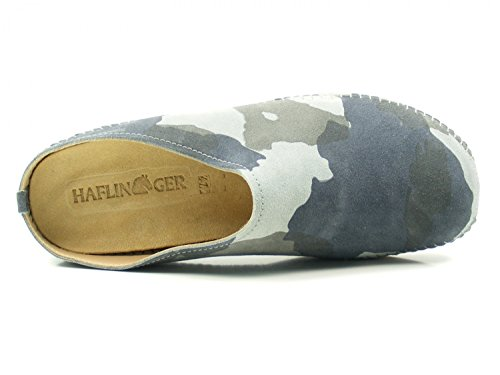 Haflinger Unisex 488023 adulto Everest 1545 Pantofole Softino Grau SH7Sq