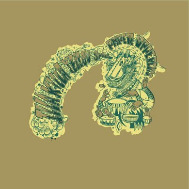 Paper/Upper/Cuts: Illa Killa Yellow Space (colored vinyl, silk-screened cover) LP (Silk Paper Screened)