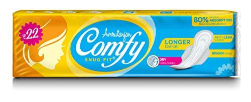 Amrutanjan Comfy Snug Fit Sanitary Pad, 36 Pads – Pack of 6