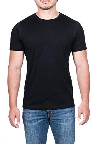 Apex Men's Merino Wool Lightweight Performance T-Shirt (Black, - Shop Apex Fittings