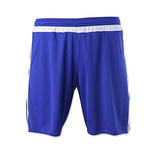 (adidas MLS 15 Match Mens Soccer Short L Bold Blue/White )