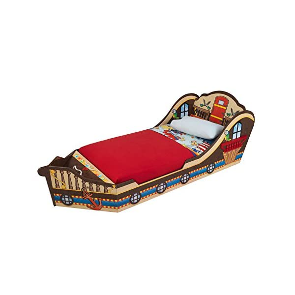 KidKraft Toddler Pirate Bed 1