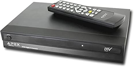 amazon com apex rbdt502 durable converter box discontinued by rh amazon com Apex Digital Antenna Apex Digital Remote Codes