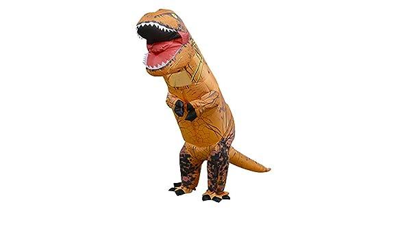 Seawang Disfraz Hinchable de Dinosaurio niños, Disfraz de ...