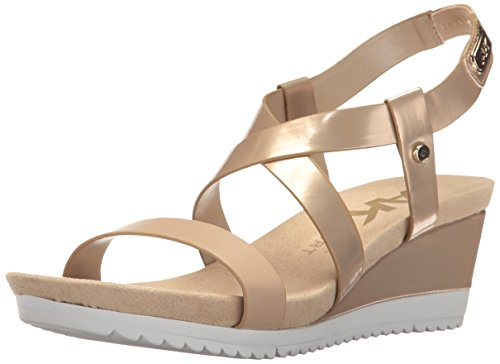 Anne Klein Women's Shanni Synthetic - Light Gold/Light Na...