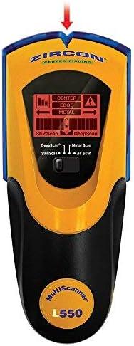 Zircon 66226 1.5-in Scan Depth PP3 (9V) Metal and Wood Stud Finder - - Amazon.com