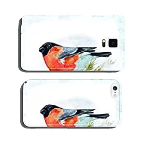 watercolor card with a bird cell phone cover case iPhone6