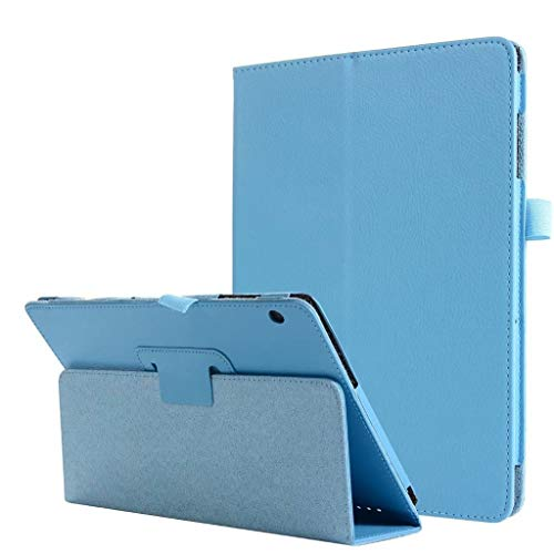 Price comparison product image MChoicefor Huawei Mediapad T5 / C5 10.1Inch Slim Stand Shell Cover Case Auto Sleep / Awke (Sky Blue)