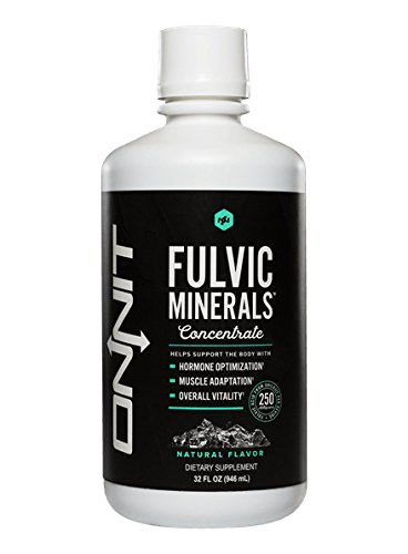 Onnit Fulvic Minerals Concentrate Liquid, Original, 32 (Trace Mineral Concentrate)