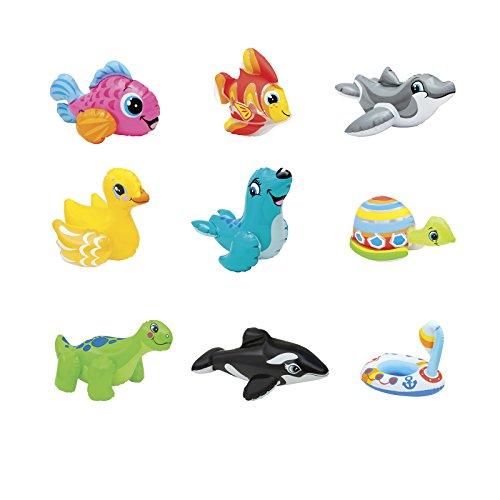 Intex Wasserspieltiere Puff´n Play, Mehrfarbig