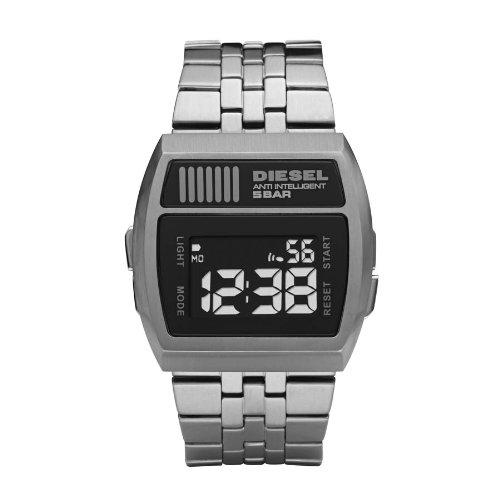 Diesel Dz7202 DZ7202 - Reloj digital de cuarzo para hombre, correa de acero inoxidable chapado