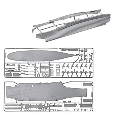 ZVEZDA 9002 Russian Heavy Aircraft Carrier-Cruiser Admiral Kuznetsov - (Paints not Included) Plastic Model Kit Scale 1/720 124 Details Lenght 17""
