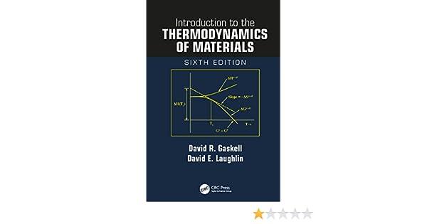 Gaskell Thermodynamics Ebook