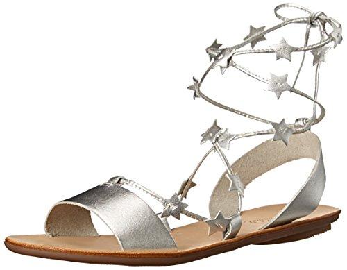 Sandal Flat LOEFFLER Silver Starla Women's RANDALL AqHIwH