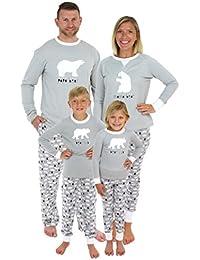 Holiday Family Matching Polar Bear Pajama PJ Sets