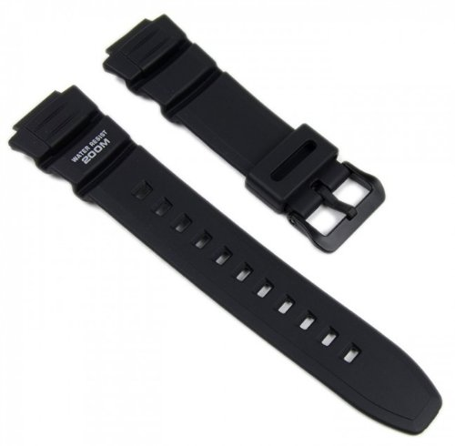 Genuine Casio Replacement Watch Strap 10302043 for Casio Watch AE-2000W-1AVH, WV-200A-1AVD + Other models Casio Waveceptor Watch Band