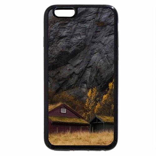 iPhone 6S / iPhone 6 Case (Black) waterfalls over cliffs in stavanger norway