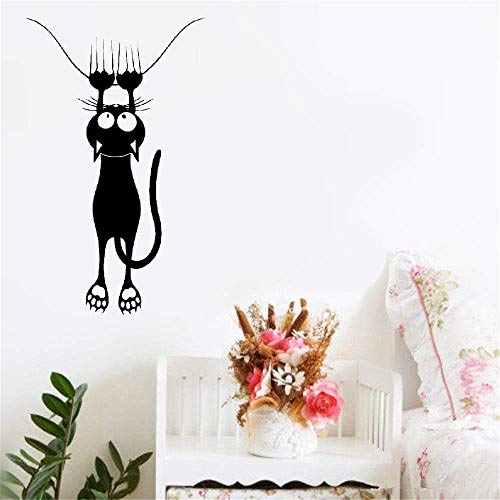 Wall Decal Quote Words Lettering Decor Sticker Wall Vinyl Funny Cat Pet Shop Veterinary Clinic