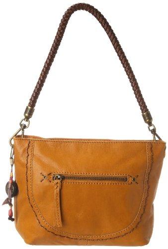 Yellow Hobo Handbag (The SAK Indio Demi Shoulder Bag, Ochre, One Size)